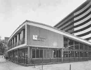 Finsbury Library, opened in 1967.