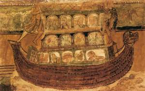 Noah's Ark, not lifesize.