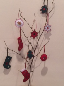 Felt tree ornaments ...
