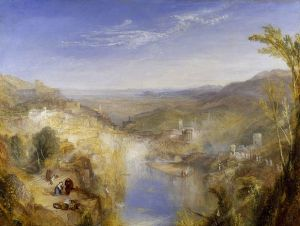 'Modern Italy: the Pifferari', by J.W.M. Turner. (Credit: Kelvingrove Art Gallery and Museum, Glasgow.)