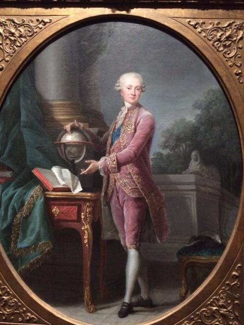 The prince de Nassau, global traveller.