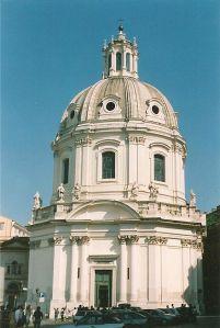 The church of the Santissimo Nome di Maria, in Trajan's Forum, Rome.