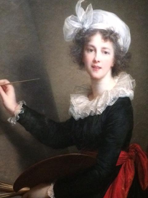 Probably the most famous self-portrait of Vigée Le Brun, painted about 1790.