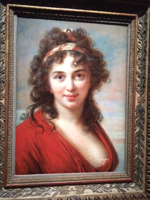 Isabella Teotochi Marini Albrizzi (1760–1836), whose Venice salon was attended by Foscolo, Canova, Mme de Staël, Chateaubriand and Byron.