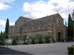 The church of Santo Spirito, Palermo, today.