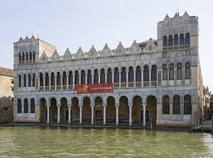 The Fondaco dei Turchi, on the other side of the Grand Canal: it is now the natural history museum.