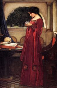 'The Crystal Ball', by John William Waterhouse.