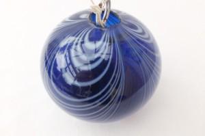 A nineteenth-century Nailsea ball.