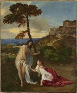 Easter Day: Titian's 'Noli me tangere'. (London: The National Gallery.)