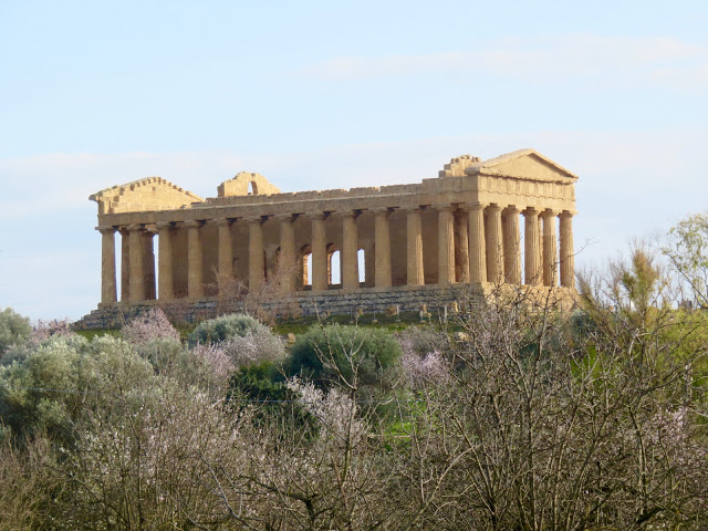The so-called temple of Concord.