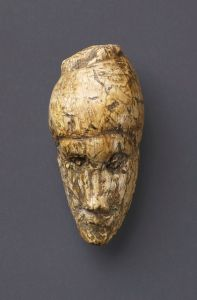 Head of a woman, from Dolni Vestonice.