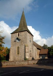 The church of St Mary the Virgin at Down, where Henrietta was married.