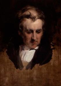 Augustus Wall Callcott, by Edwin Landseer, 1833.