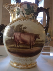 Earl Spencer's ox, on one side of the jug...