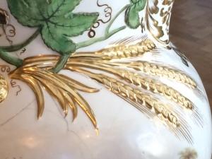 Ears of golden corn ...