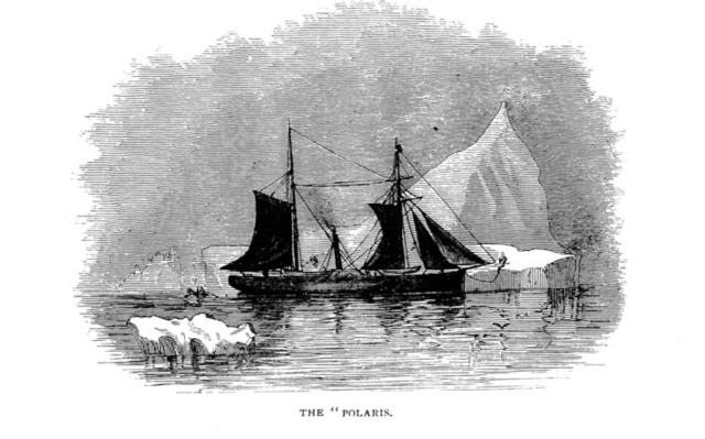 The Polaris, from the title page of Albert Markhamn's book about the rescue.