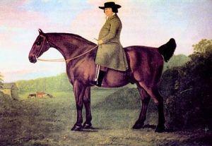 Robert Bakewell, by the livestock painter John Boultbee (1753–1812).
