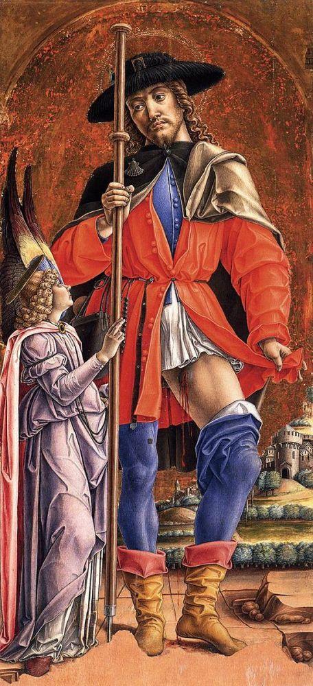 San Rocco, by Bartolomeo Viviarini (1480).