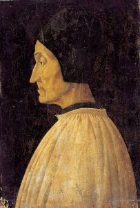 A portrait by Giovanni Bellini, c.1432–1516.