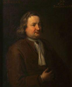 Portrait of John Bagford, biblioclast, by Hugh Howard (1675–1737).