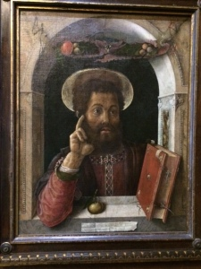 Mantegna's St Mark, now usually on display in