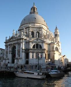 Santa Maria della Salute, the work of architect Baldessare Longhena.