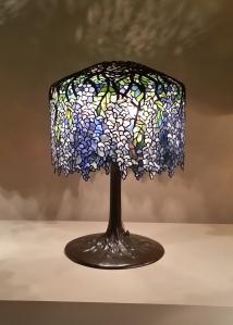 Tiffany's wisteria lamp.