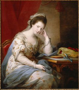 Barbara, countess of Coventry, by Angelica Kauffmann (c. 1800).