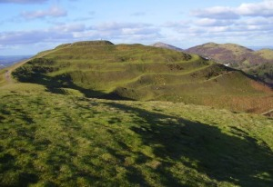 The Iron Age hillfort of British Camp.