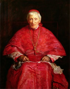 Portrait of Cardinal Newman (1881), by Millais. (Credit: National Portrait Gallery)