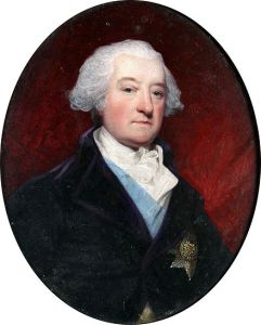 Henry Bone, miniature of the 5th earl of Inchiquin, after a portrait by John Hoppner, R.A. (Sold at Bonham's, Oxford, 2013)