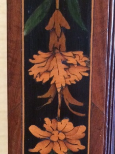 Pink inlaid in a French cabinet (c. 1670–80) in the Fitzwilliam Museum.