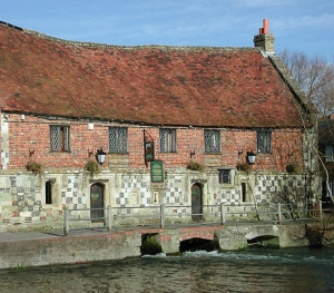 The Old Mill at Harnham.