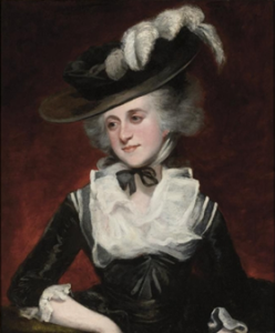 Reynolds's portrait of his niece, Mary Palmer. (Credit: