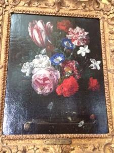 Pink or carnation in a still life by Nicolaes van Verendael (