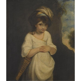 Mary Palmer's version of the 'Strawberry Girl'.