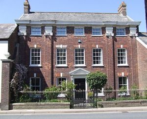 Palmer House, Great Torrington, Devon. Horatio Nelson was a later visitor.