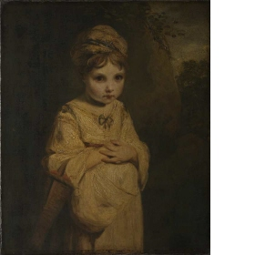 Reynolds's 'Strawberry Girl', probably his niece Theophila. (Credit: The Wallace Collection, London)