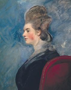 Reynolds, Portrait of a lady, purchased by Turner at the Thomand sale. (Credit: Tate Britain)