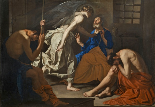 Antonio de Bellis, 'The Liberation of St Peter'. (Private collection)