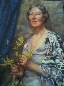 Amelia Amherst, painted by her daughter Maud.
