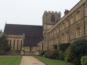 Jesus College chapel, the former church of St Radegund's nunnery.