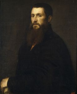 Titian's portrait of Daniele Barbaro, now in the Prado, Madrid.