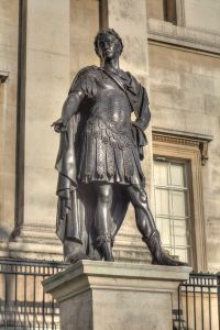 James II, outside the National Gallery.