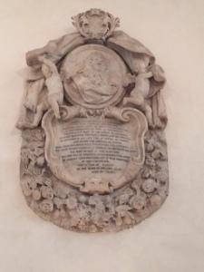 Rustat's memorial.
