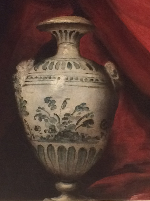 Another luxury ceramic, from Bernardo Strozzi's 'Feast in the House of Simeon'.