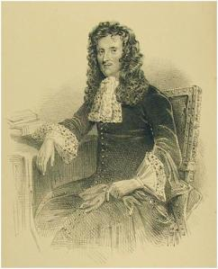 A later print of Tobias Rustat in his prime. There is a portrait of him in Jesus College Hall.