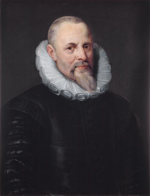 Jan Moretus, commissioned by this son Balthasar from Rubens and painted about 1612.