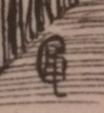 The engraver's mark.