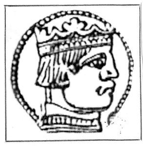 This coin profile is the only known contemporary image of James II.